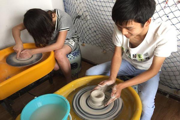 陶艺制作步骤图片